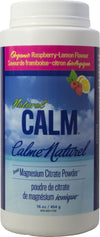 Supplements & Vitamins - Natural Calm - Calm Magnesium Raspberry Lemon, 454g