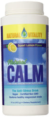 Supplements & Vitamins - Natural Calm - Natural Calm Lemon, 454g