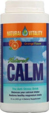 Supplements & Vitamins - Natural Calm - Natural Calm Orange, 454g