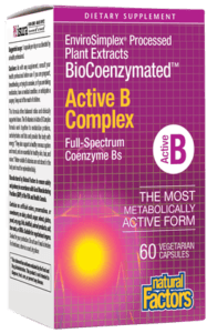 Supplements & Vitamins - Natural Factors - Active B Complex, 60 VCAPS