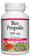 Supplements & Vitamins - Natural Factors - Bee Propolis Extract, 90 Capsules