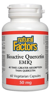 Supplements & Vitamins - Natural Factors - Bioactive Quercetin Emiq - 60 VCaps