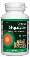 Supplements & Vitamins - Natural Factors - Complete Megazymes, 90 Tablets