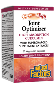 Supplements & Vitamins - Natural Factors - CurcuminRich Joint Optimizer, 60 Vcaps