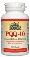 Supplements & Vitamins - Natural Factors - PQQ-10 Ubiquinol, 30 Softgels