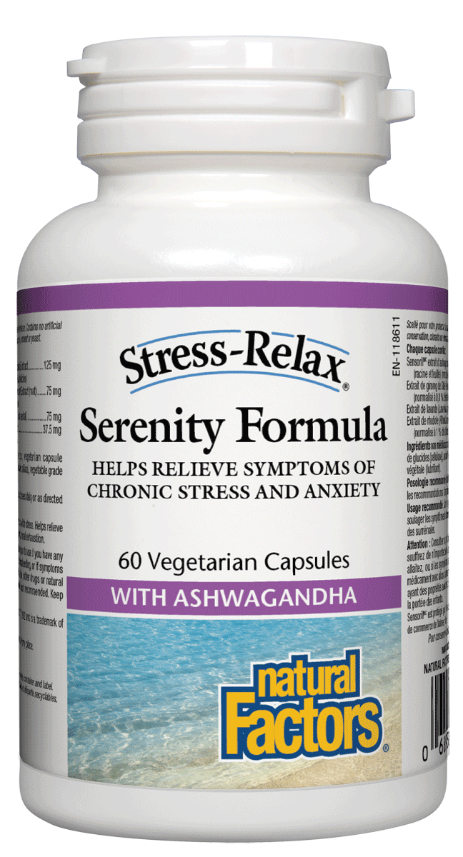 Supplements & Vitamins - Natural Factors - Serenity Formula, 60 Tabs