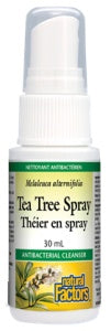 Supplements & Vitamins - Natural Factors - Tea Tree Oil Spray - 30 Ml