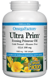 Supplements & Vitamins - Natural Factors - Ultra Prim® Evening Primrose Oil -180 Softgels