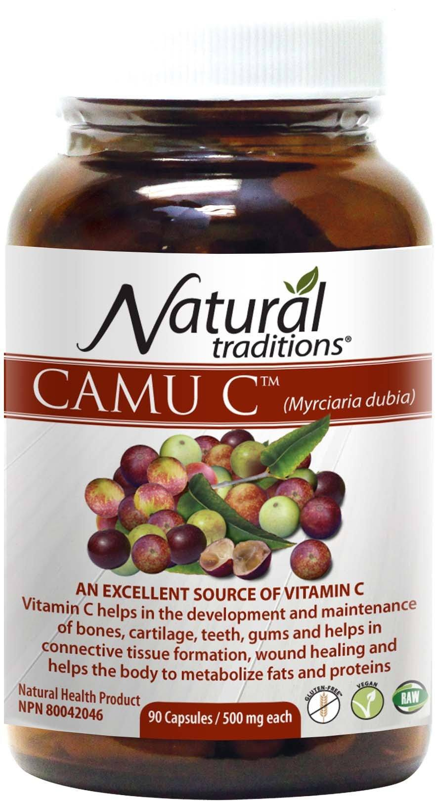 Supplements & Vitamins - Natural Traditions - Camu C, 90 Capsules
