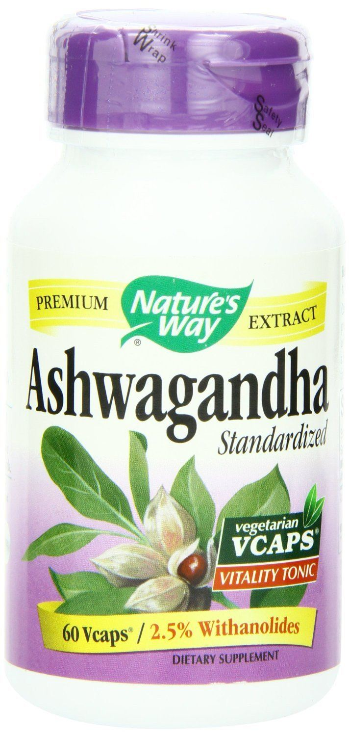 Supplements & Vitamins - Nature's Way - Ashwagandha, 60 Vcaps