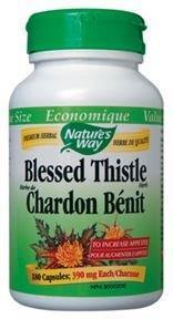 Supplements & Vitamins - Nature's Way - Blessed Thistle, 180 Capsules