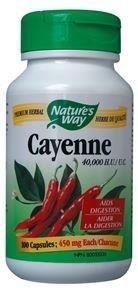 Supplements & Vitamins - Nature's Way - Cayenne, 100 Capsules