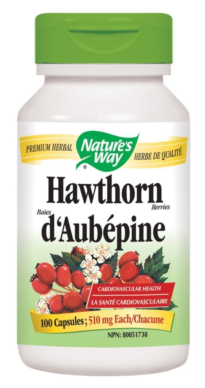 Supplements & Vitamins - Nature's Way - Hawthorn Berries, 100 Capsules