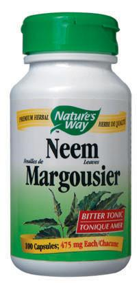 Supplements & Vitamins - Nature's Way - Neem Leaves, 100 Capsules