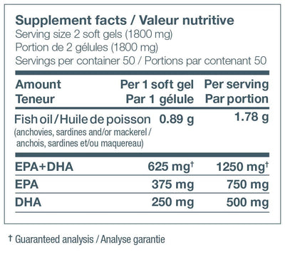 Supplements & Vitamins - Nature's Way - NutraSea - 100 Softgels