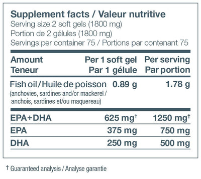 Supplements & Vitamins - Nature's Way - NutraSea - 150 Softgels
