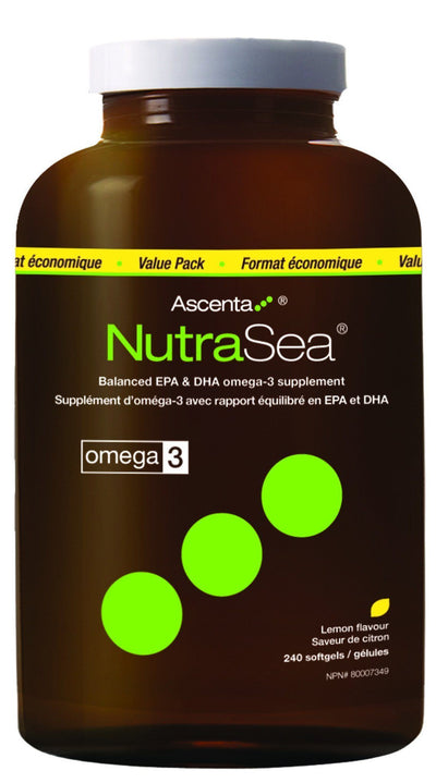Supplements & Vitamins - Nature's Way - NutraSea, 240 Caps