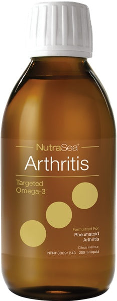 Supplements & Vitamins - Nature's Way - NutraSea Arthritis, 200ml