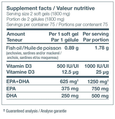 Supplements & Vitamins - Nature's Way - NutraSea+D - 150 Softgels