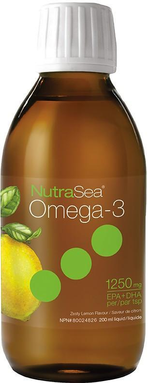 Supplements & Vitamins - Nature's Way- NutraSea - Lemon, 200ml