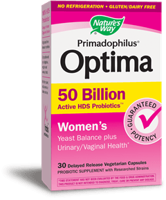 Supplements & Vitamins - Nature's Way - Prima Optima Women 50b - 30VCAPS