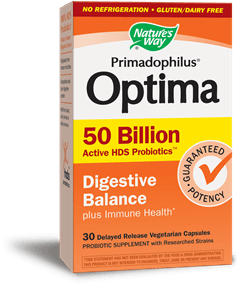 Supplements & Vitamins - Nature's Way - Primadophilus Optima 50 Billion - 30vcaps