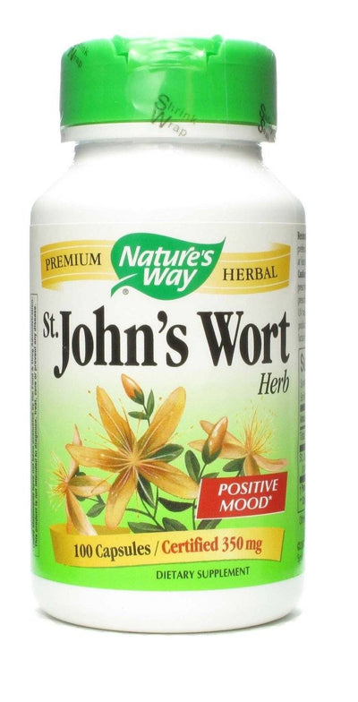 Supplements & Vitamins - Nature's Way - St. John's Wort, 100 Capsules