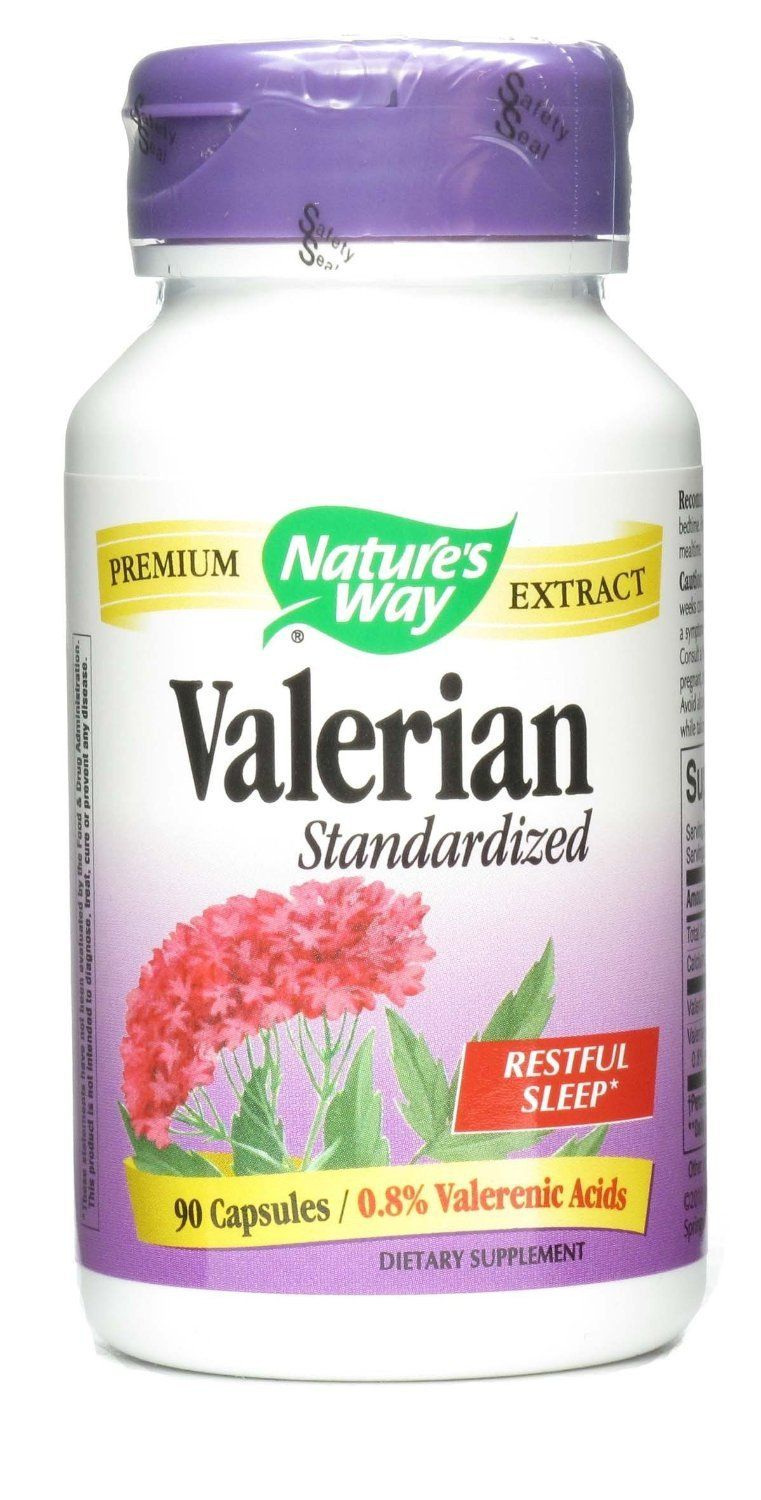 Supplements & Vitamins - Nature's Way - Valerian, 90 Capsules