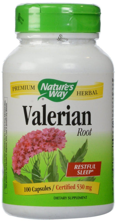 Supplements & Vitamins - Nature's Way - Valerian Root, 100 Caps