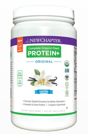Supplements & Vitamins - New Chapter - Complete Plant Protein+ - Vanilla, 423g