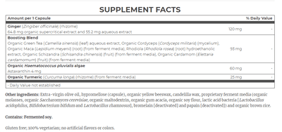 Supplements & Vitamins - New Chapter - Daily Workout + Recovery, 30 VCAPS