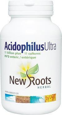 Supplements & Vitamins - New Roots Herbal - Acidophilus Ultra, 120 Caps