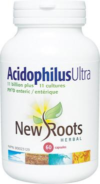 Supplements & Vitamins - New Roots Herbal - Acidophilus Ultra, 60 Caps