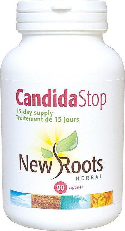 Supplements & Vitamins - New Roots Herbal - Candida Stop, 90 Capsules