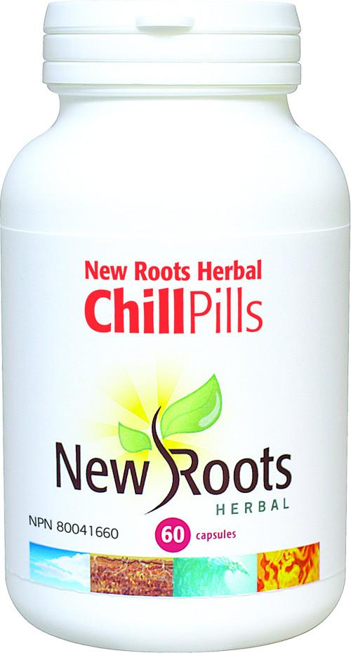 Supplements & Vitamins - New Roots Herbal - Chill Pills -60 Capsules