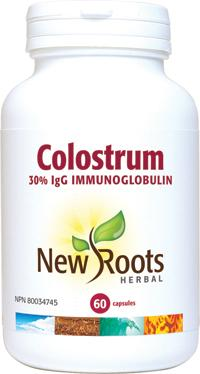 Supplements & Vitamins - New Roots Herbal - Colostrum Capsules 570 Mg, 60 CAPS