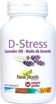 Supplements & Vitamins - New Roots Herbal - D-stress, 60 Caps