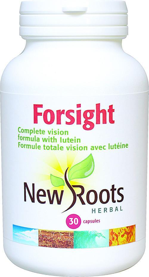 Supplements & Vitamins - New Roots  Herbal- Forsight, 30 Capsules