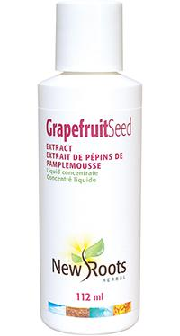 Supplements & Vitamins - New Roots Herbal - Grapefruit Seed Extract, 112ml