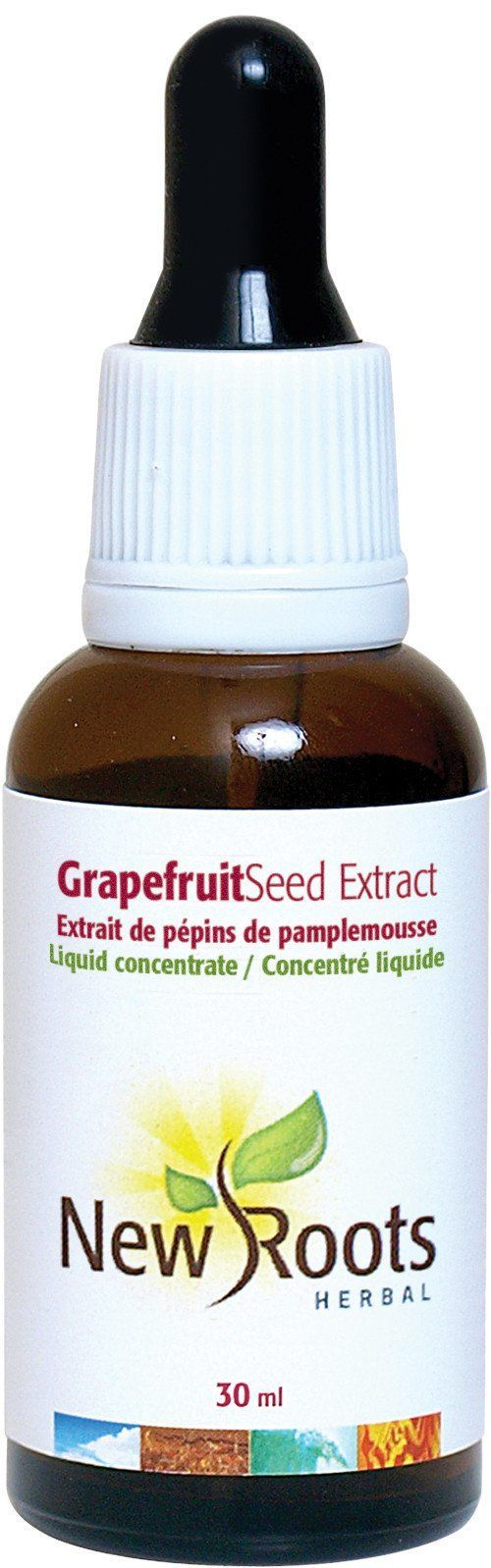 Supplements & Vitamins - New Roots Herbal - Grapefruit Seed Extract, 30ml