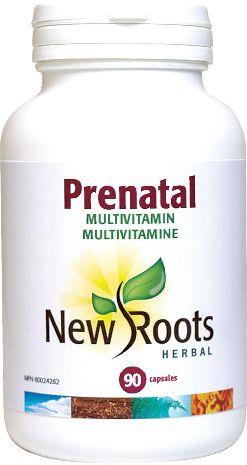 Supplements & Vitamins - New Roots Herbal - Prenatal, 90 Capsules