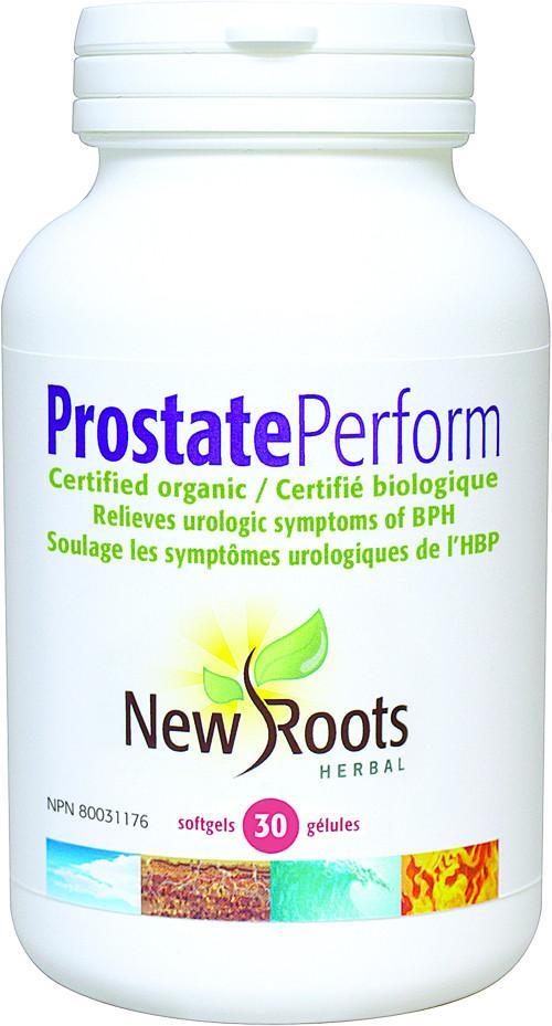 Supplements & Vitamins - New Roots Herbal - Prostate Perform, 30 Capsules