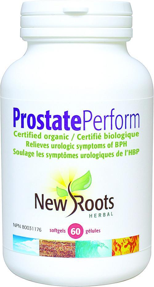 Supplements & Vitamins - New Roots Herbal - Prostate Perform, 60 Capsules