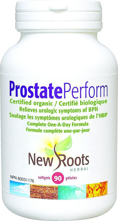 Supplements & Vitamins - New Roots Herbal - Prostate Perform, 90 Softgels