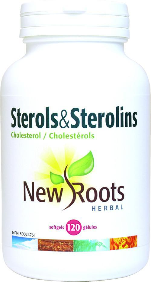 Supplements & Vitamins - New Roots Herbal - Sterols & Sterolins, 120 Soft Gels