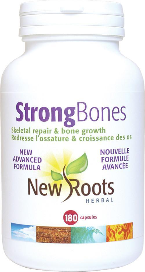 Supplements & Vitamins - New Roots Herbal - Strong Bones, 180 Capsules