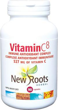 Supplements & Vitamins - New Roots Herbal - Vitamin C8, 90 Caps