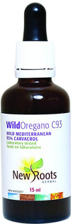 Supplements & Vitamins - New Roots Herbal - Wild Oregano C93 -15ml