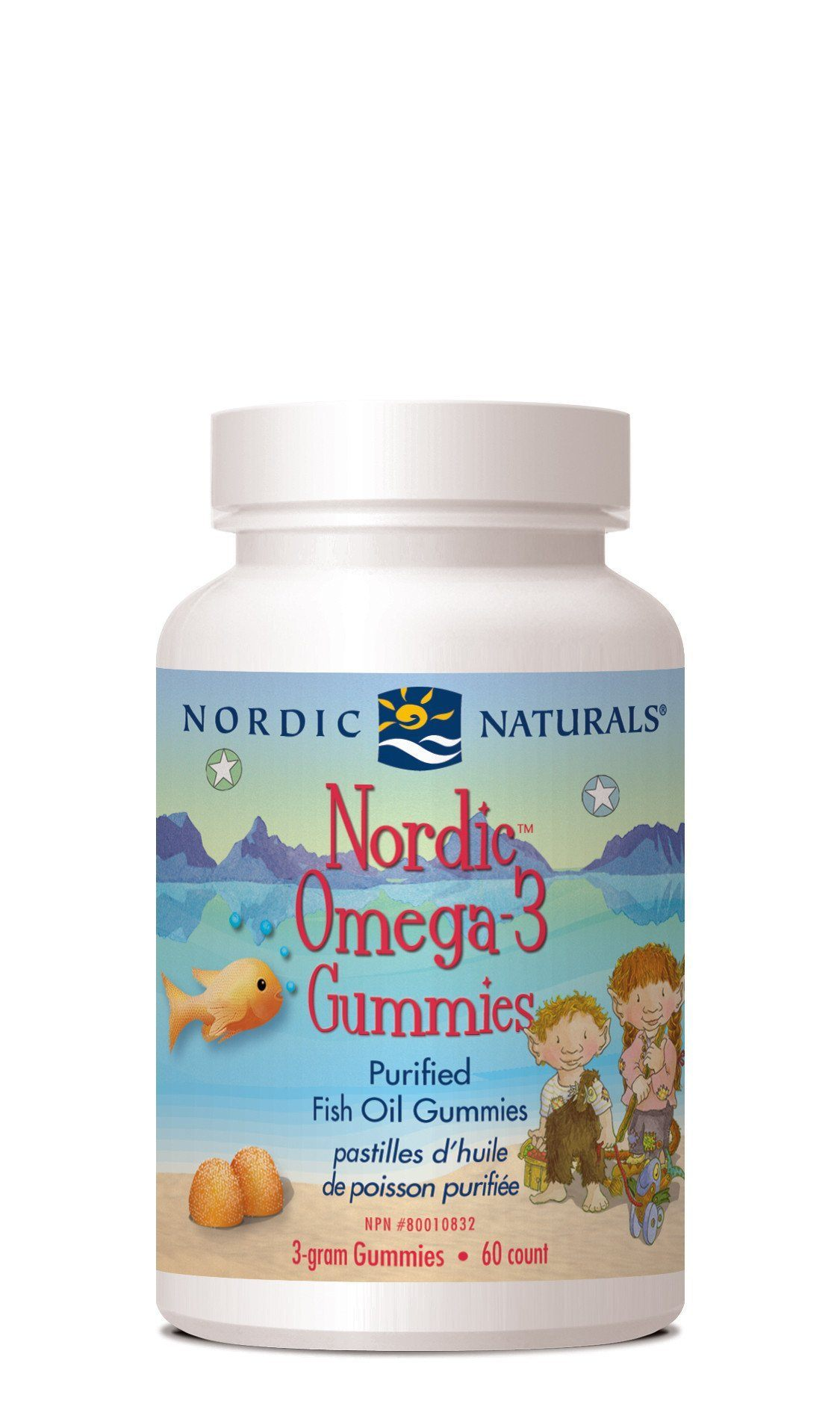 Supplements & Vitamins - Nordic Naturals - Omega 3 Gummies, 60 Chews