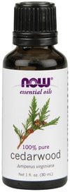 Supplements & Vitamins - NOW - Cedarwood Essential Oil, 30ml